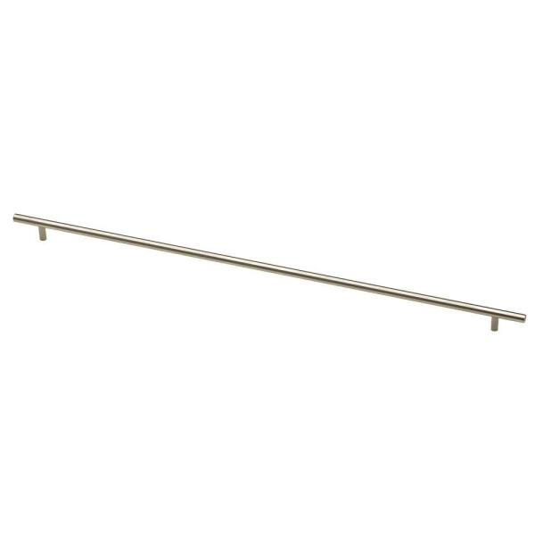25-3/16 in. (720mm) Center-to-Center Brushed Steel Bar Drawer Pull