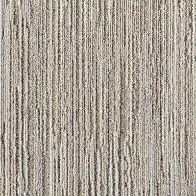 Fully Barked Beige 19.7 in. x 19.7 in. Carpet Tile (6 Tiles/Case)