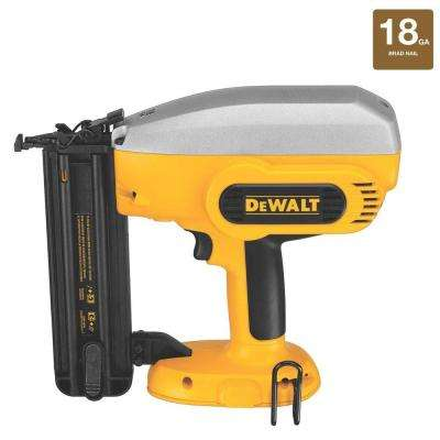18-Volt NiCd Cordless 2 in. 18-Gauge Brad Nailer (Tool-Only)