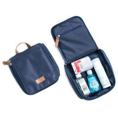 Nylon Travel Case in Blue