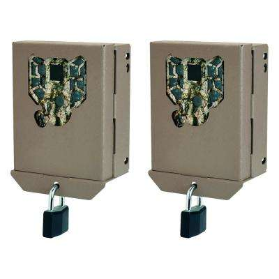 PX Series Game Trail Camera Steel Security Case Box (2-Pack)