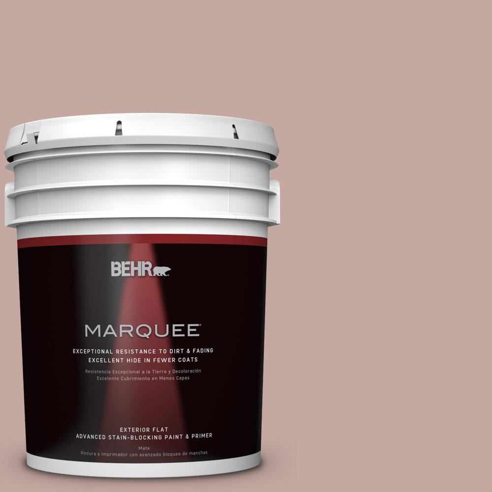 Home Decorators Collection 5-gal. #HDC-NT-06 Patchwork Pink Flat Exterior Paint