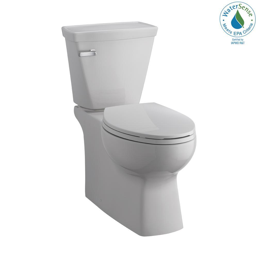 Delta Riosa Select 2-Piece 1.28 GPF Single Flush Elongated Toilet in White