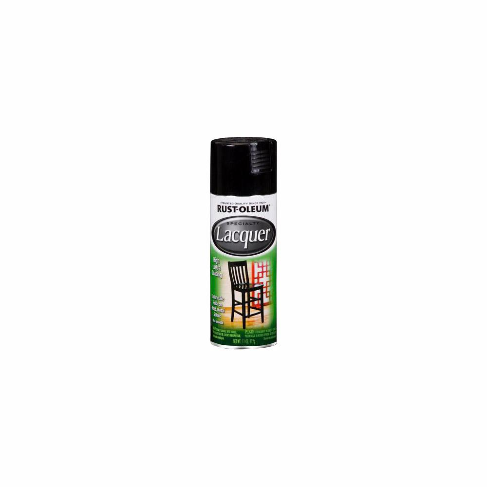 Rust-Oleum Specialty 11 oz. Gloss Black Lacquer Spray (6-Pack)