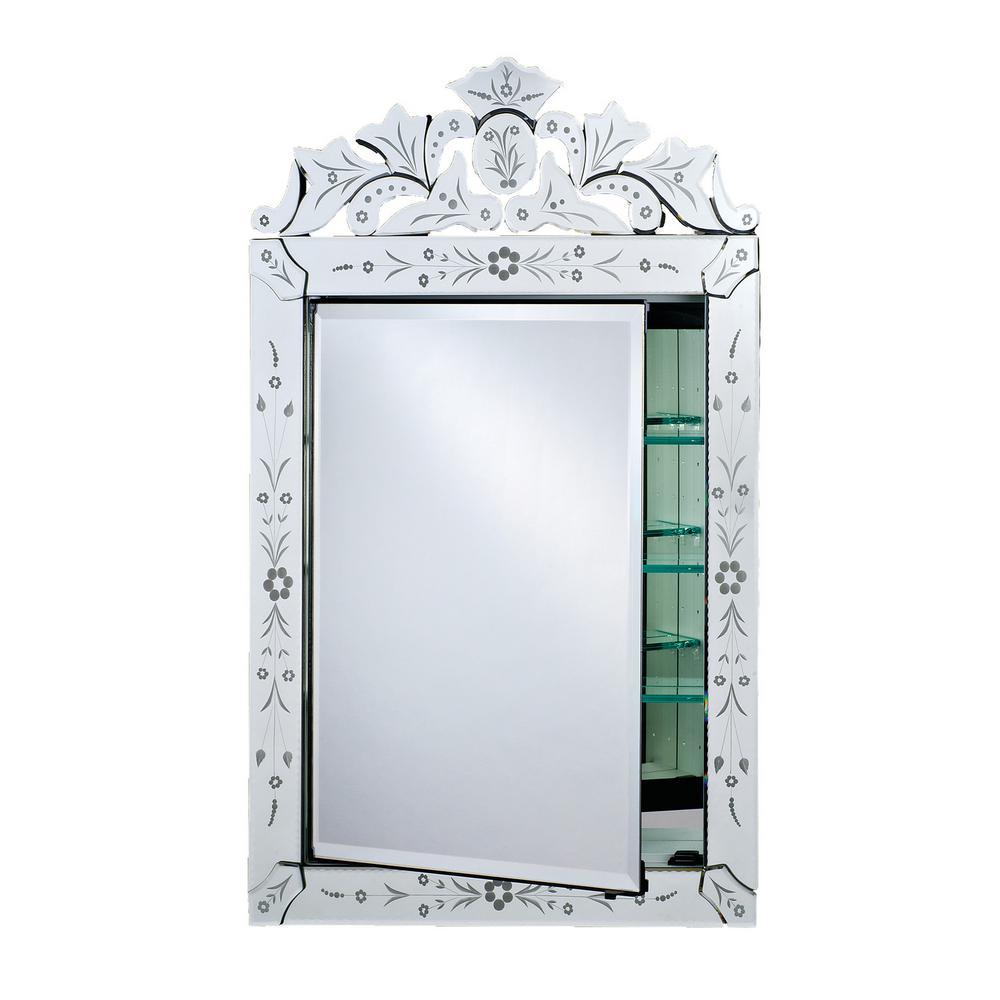 Superbe Afina Radiance Cabinets 25 In. X 39 In. Recessed Medicine Cabinet
