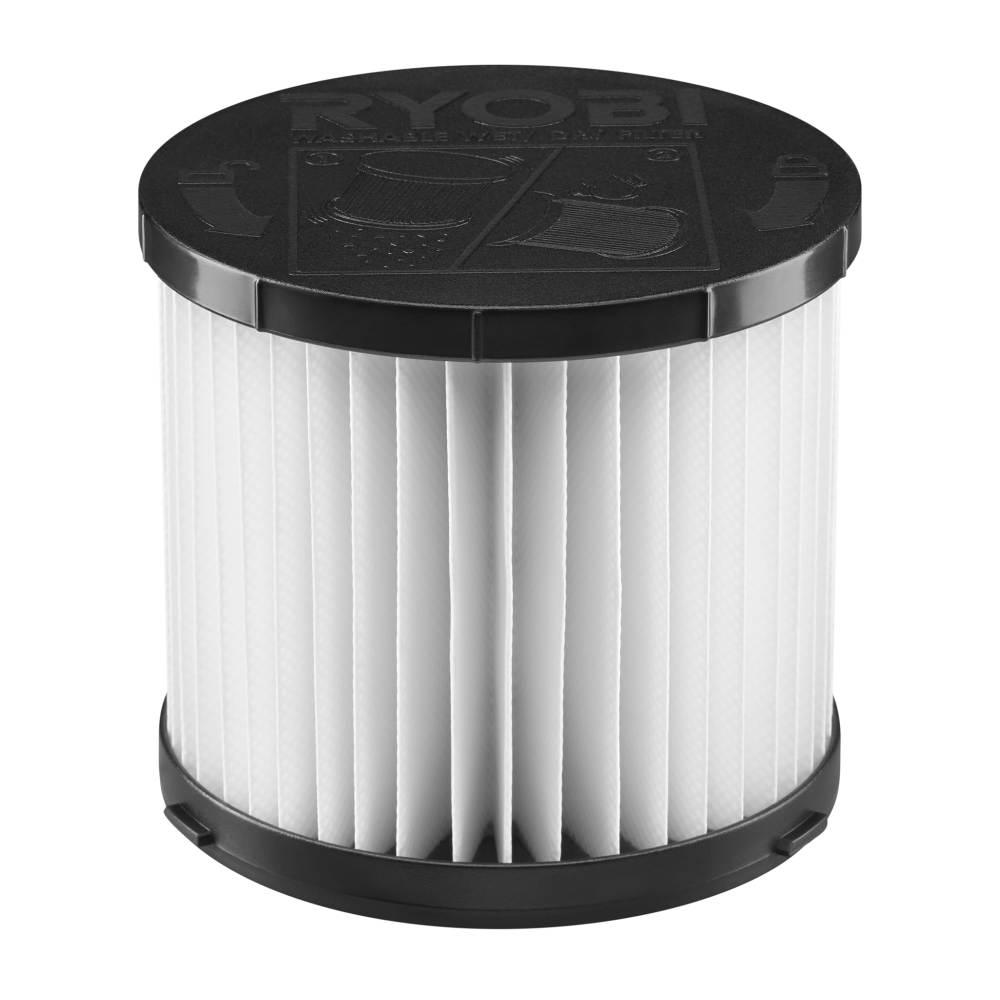 Ryobi 18 Volt One 3 Gal Wet Dry Vacuum Replacement Filter For Model P3240 A32vc05 The Home Depot