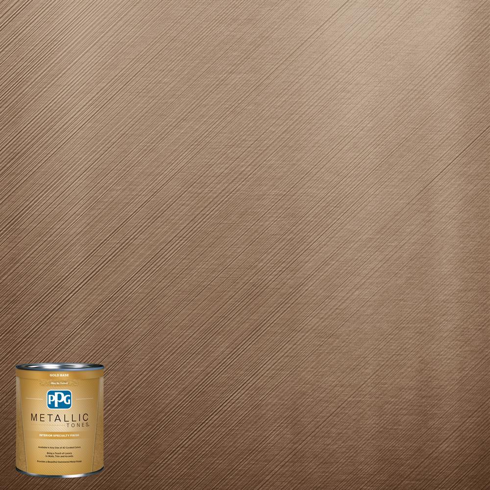 1 qt.#MTL135 Golden Chestnut Metallic Interior Specialty Finish Paint