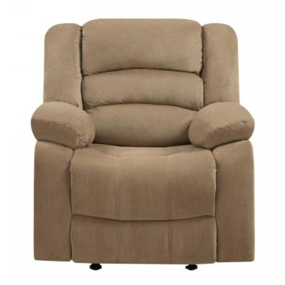 Charlie Beige Reclining Media Chair