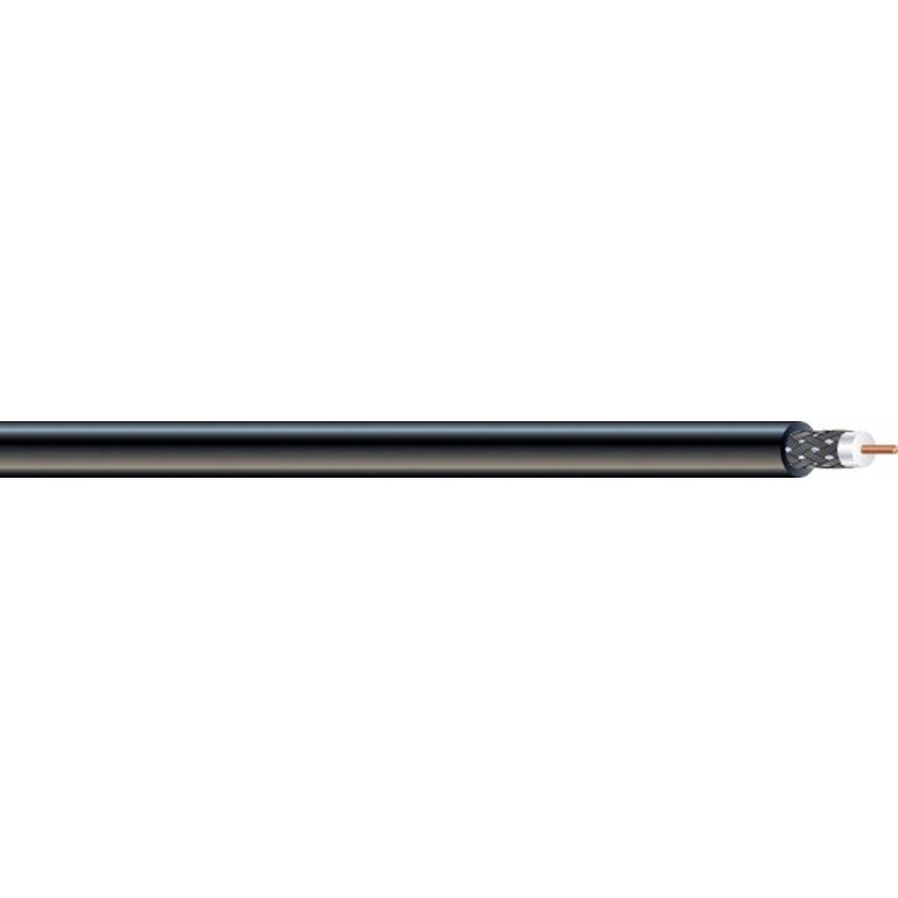 Southwire (By-the-Foot) 18 RG6 Dual Shield CU CATV CM/CL2 Coaxial Cable in Black