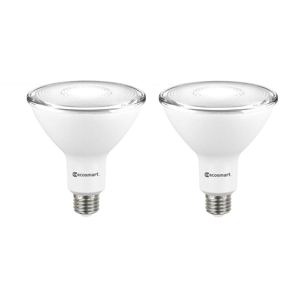 90-Watt Equivalent PAR38 Dimmable Flood LED Light Bulb Daylight (2-Pack)