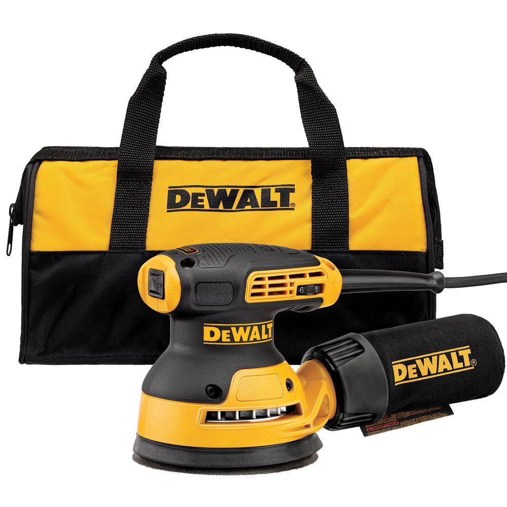 DEWALT 3 Amp 5 in. Corded Variable Speed Random Orbital Sander