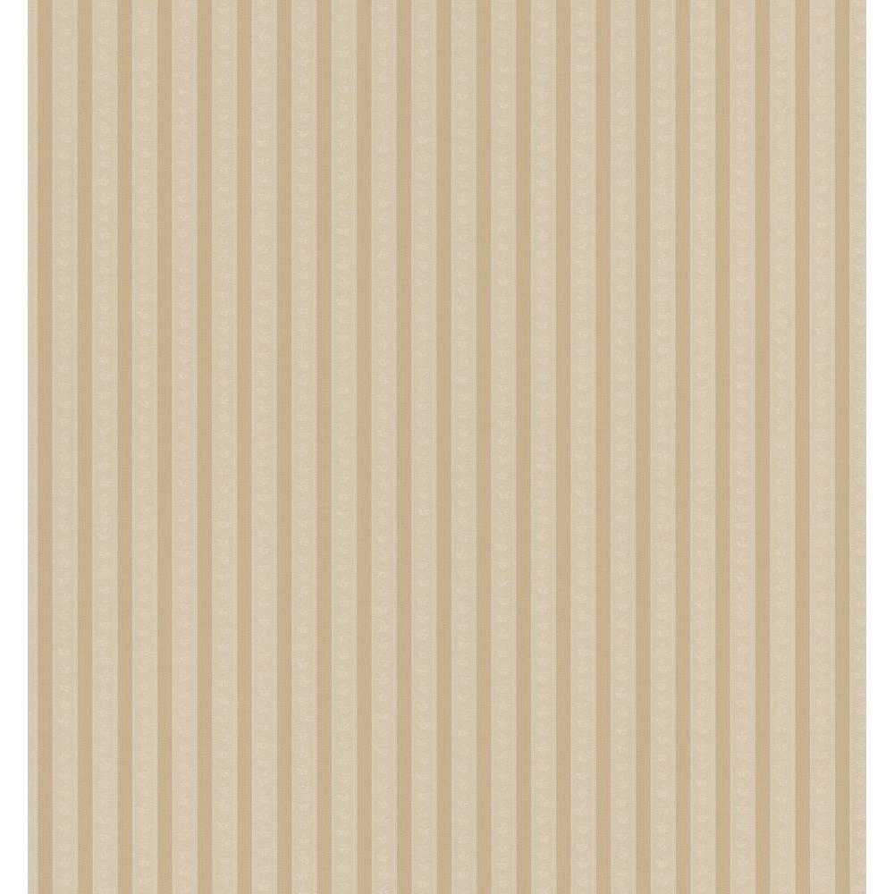 Brewster 8 in. W x 10 in. H Corona Stripe Wallpaper Sample