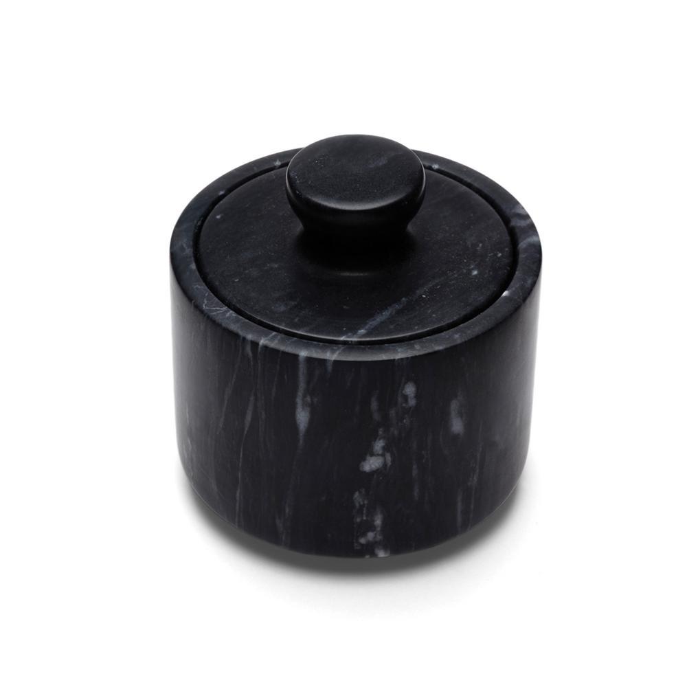 Black Marble Salt Cellar