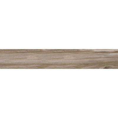 Carolina Timber Beige 6 in. x 36 in. Glazed Ceramic Floor and Wall Tile (15 sq. ft. / case)