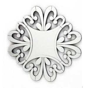 Click here to buy  33 inch x 33 inch The Versailles Home Decor Starburst Wall Mirror for Interior.