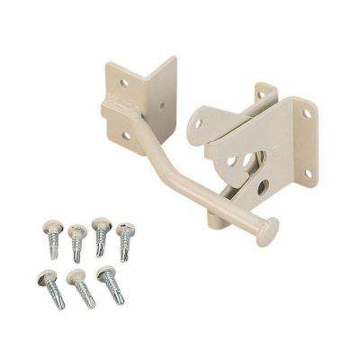 Navajo White Steel Gravity Latch Kit