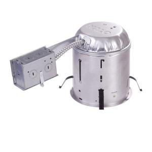 Aluminum Recessed Lighting Housing for Remodel Ceiling Insulation Contact (6  sc 1 st  The Home Depot & Halo H7 6 in. Aluminum Recessed Lighting Housing for Remodel ... azcodes.com