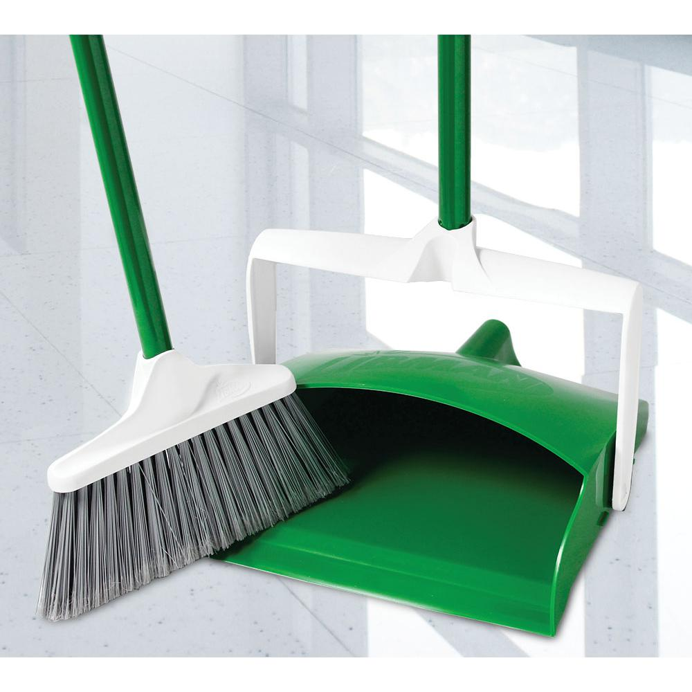 Libman Lobby Broom and Dustpan-1152 - The Home Depot
