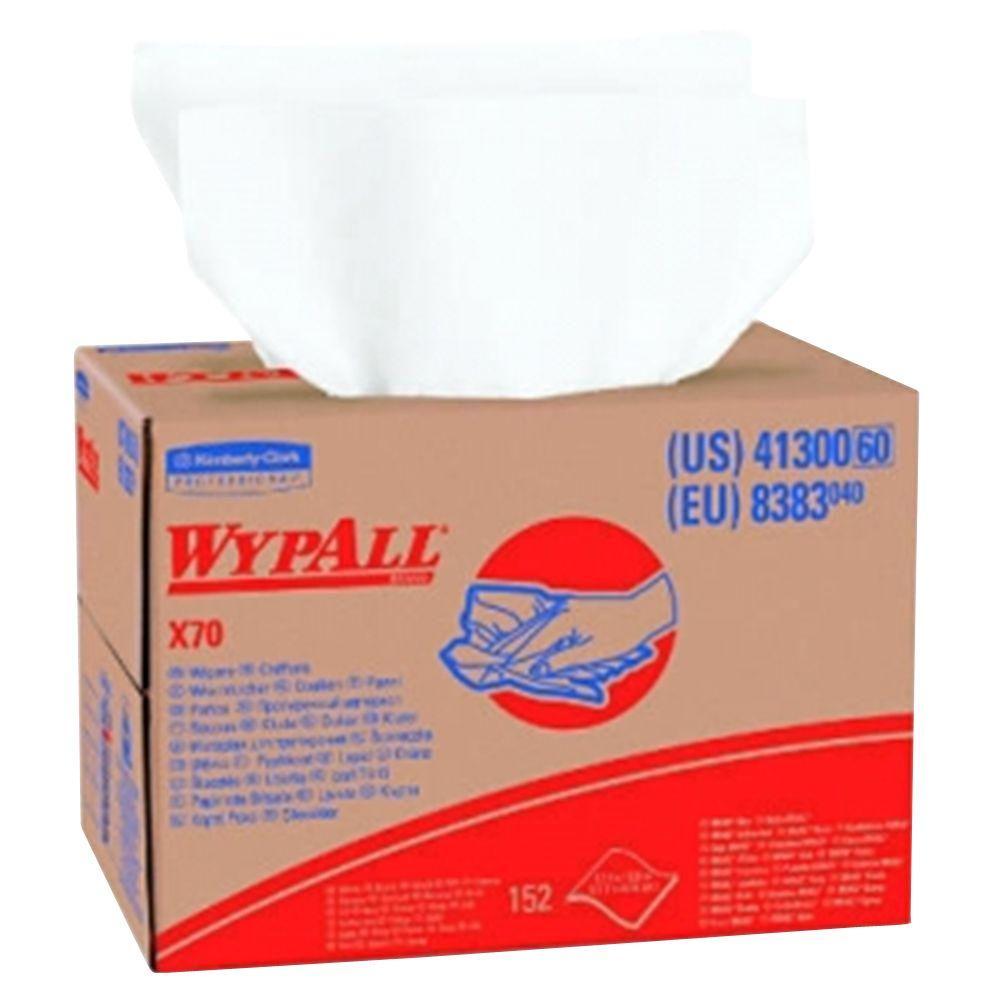 WYPALL X70 White Wipers Brag Box (152-Box)