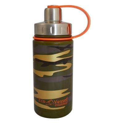 13 oz. Twist Triple Insulated Bottle with Screw Cap - Camouflage