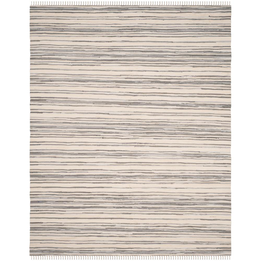 Safavieh Rag Rug Ivory/Gray 8 ft. x 10 ft. Area Rug