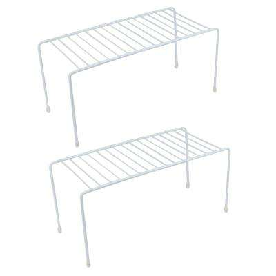 5 in. W x 5 in. H x 11 in. D Small Kitchen Helper 1 tier Shelving Unit