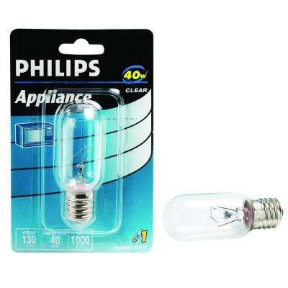40-Watt Clear T8 Incandescent Appliance Light Bulb