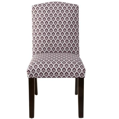 Sensational Skyline Furniture Elliot Floral Plum Camel Back Dining Chair Squirreltailoven Fun Painted Chair Ideas Images Squirreltailovenorg