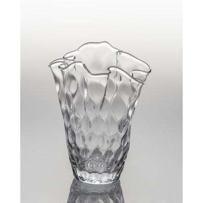 Pam Clear Glass Decorative Vase