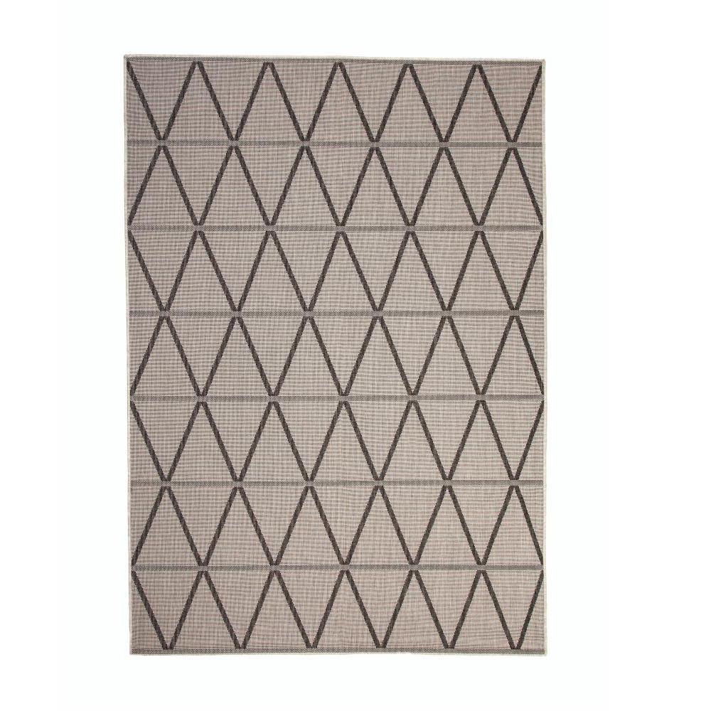 Sams International Veranda Charcoal Grey 5 Ft 3 In X 7