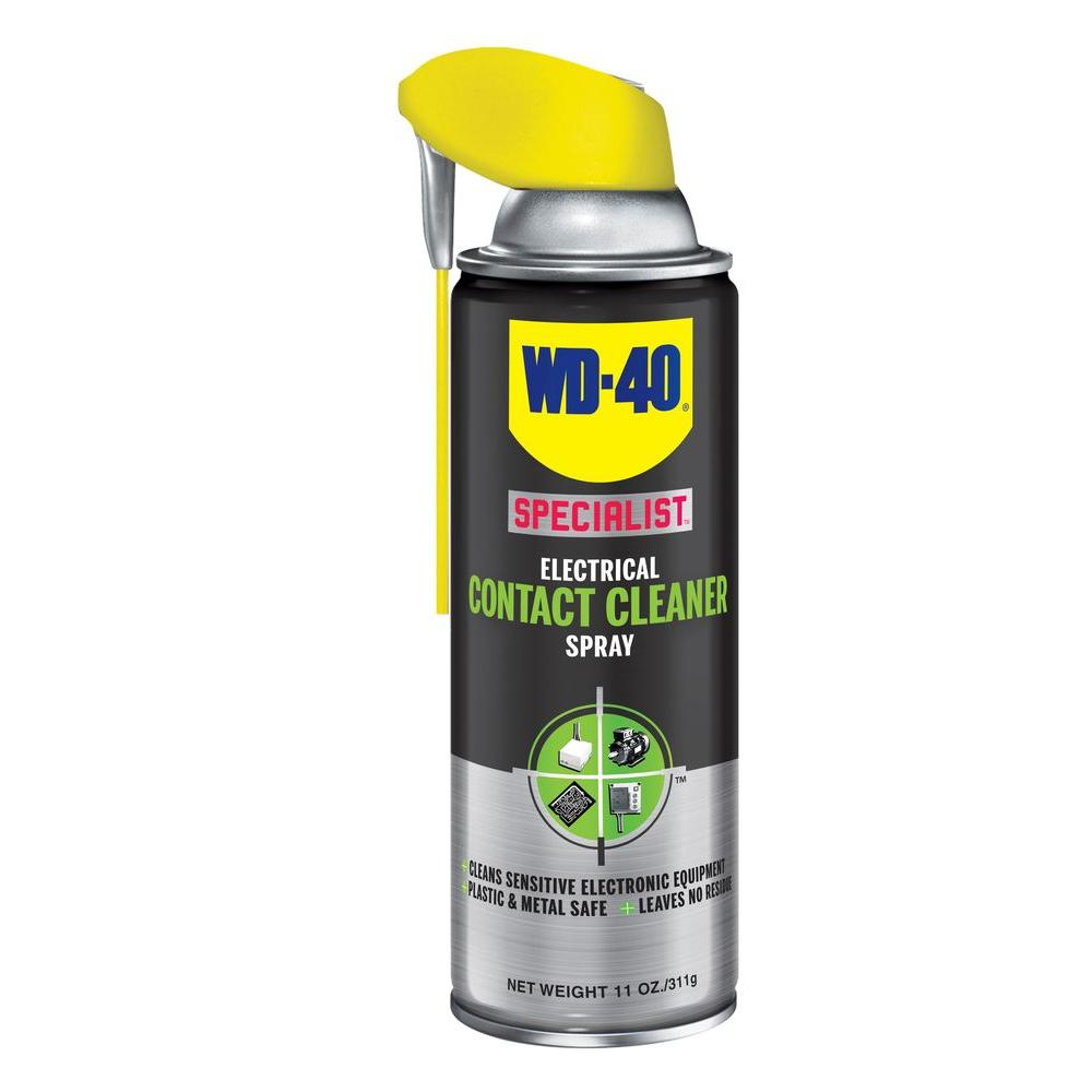 WD-40 SPECIALIST 11 oz. Contact Cleaner-300083 - The Home Depot