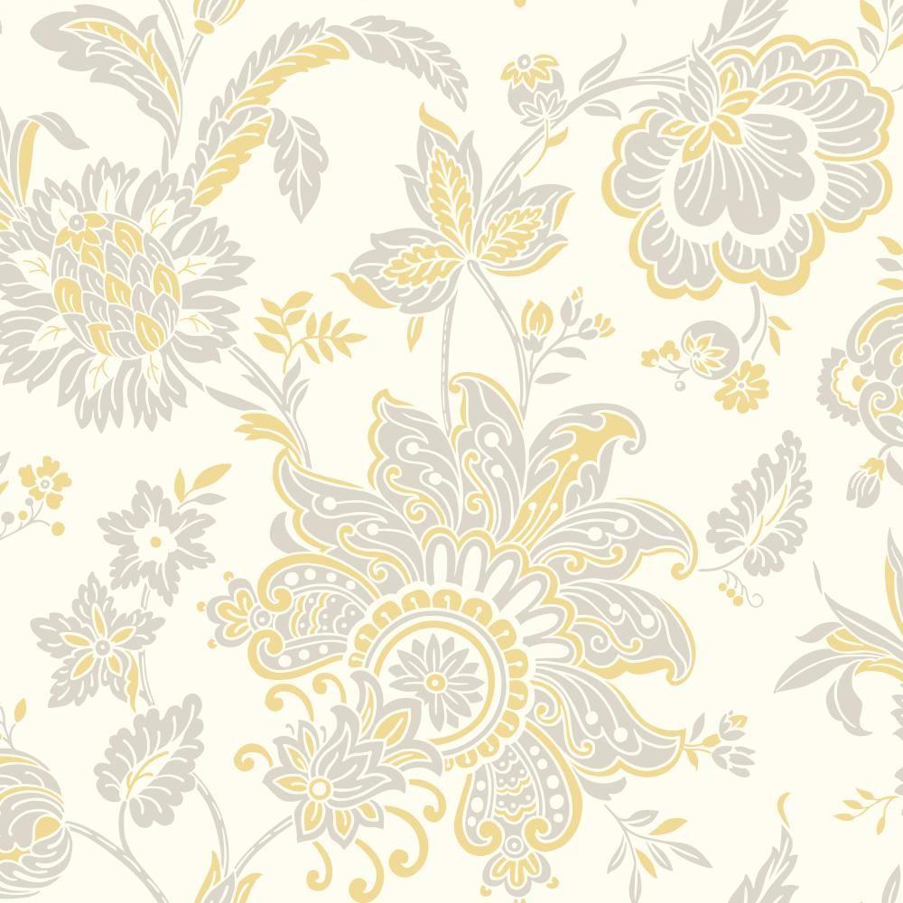 York Wallcoverings Pattern Play Arabella Wallpaper HS2037