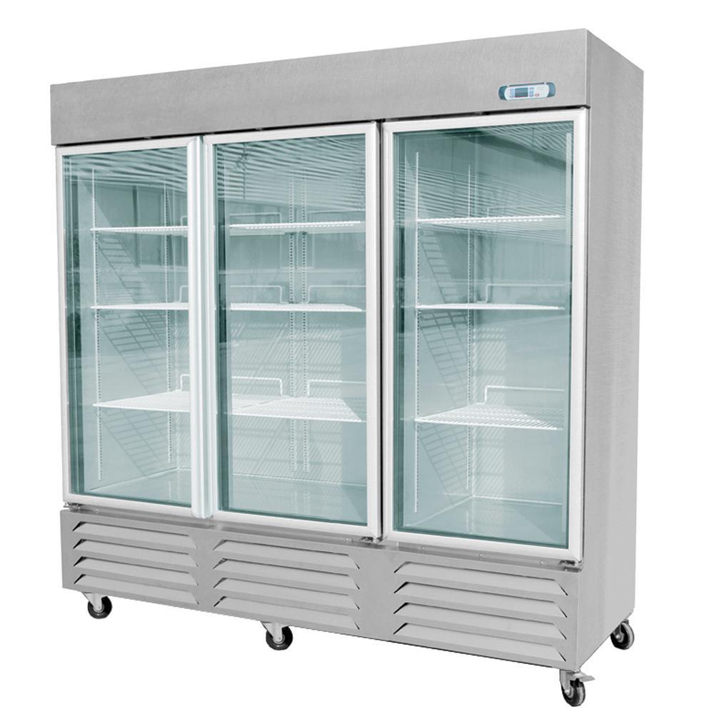 Eq Kitchen Line 211 Cu Ft 724x 304x788 In 3 Glass Door