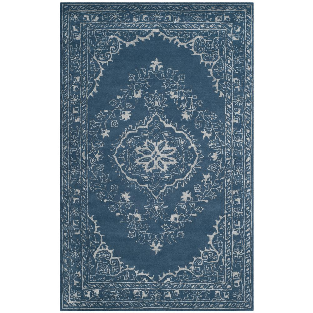 Glamour Blue 5 ft. x 8 ft. Area Rug