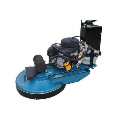 EnviroPro 27 in. Weighted Dust Collection Propane Burnisher