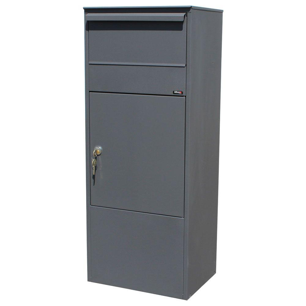 Storslået QualArc 800 Mail/Parcel Box in Grey Color-ALX-800-GY - The Home Depot BP93