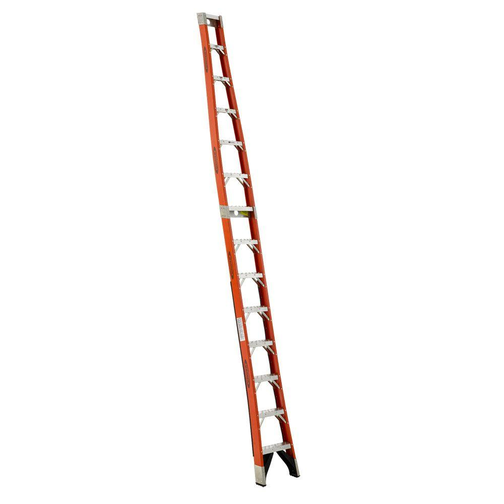 14 ft. Fiberglass Tapered Posting Extension Ladder with 300 lb. Load