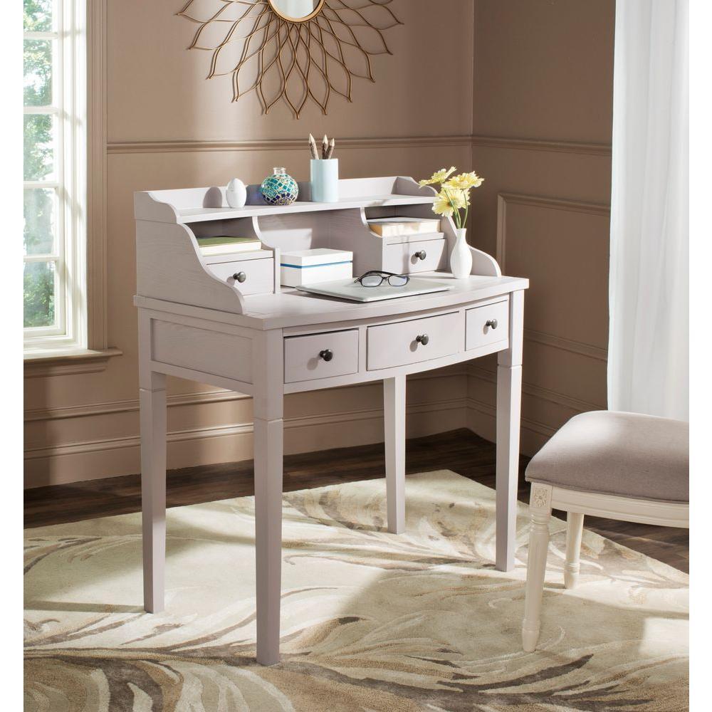 Landon Quartz Gray Desk