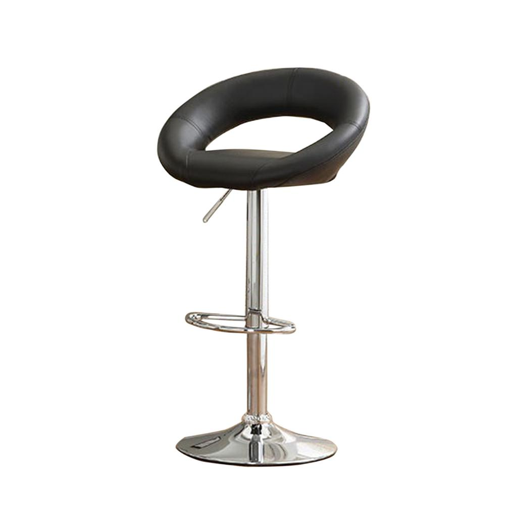 Numbi 3275 In To 38 In Contemporary Style Bar Stool In Black