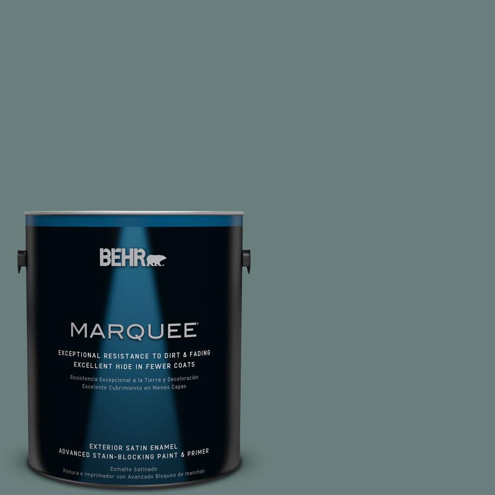 BEHR MARQUEE 1-gal. #N430-5 Aspen Valley Satin Enamel Exterior Paint