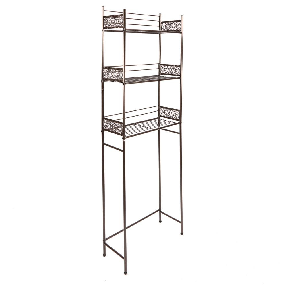 Silverwood Filigree Bathroom Collection Spacesaver in Oil Rubbed Bronze