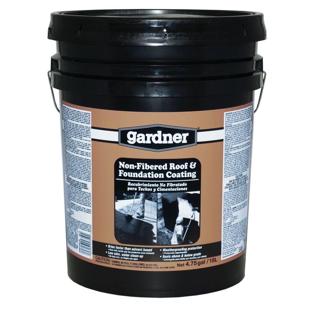 Gardner 4.75 Gal. Non Fibered Roof And Foundation Coating