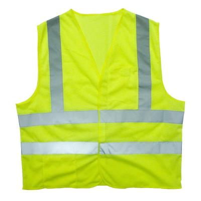 Extra Large Flame Resistant Class 2 High Visibility 2 Pocket Safety Vest