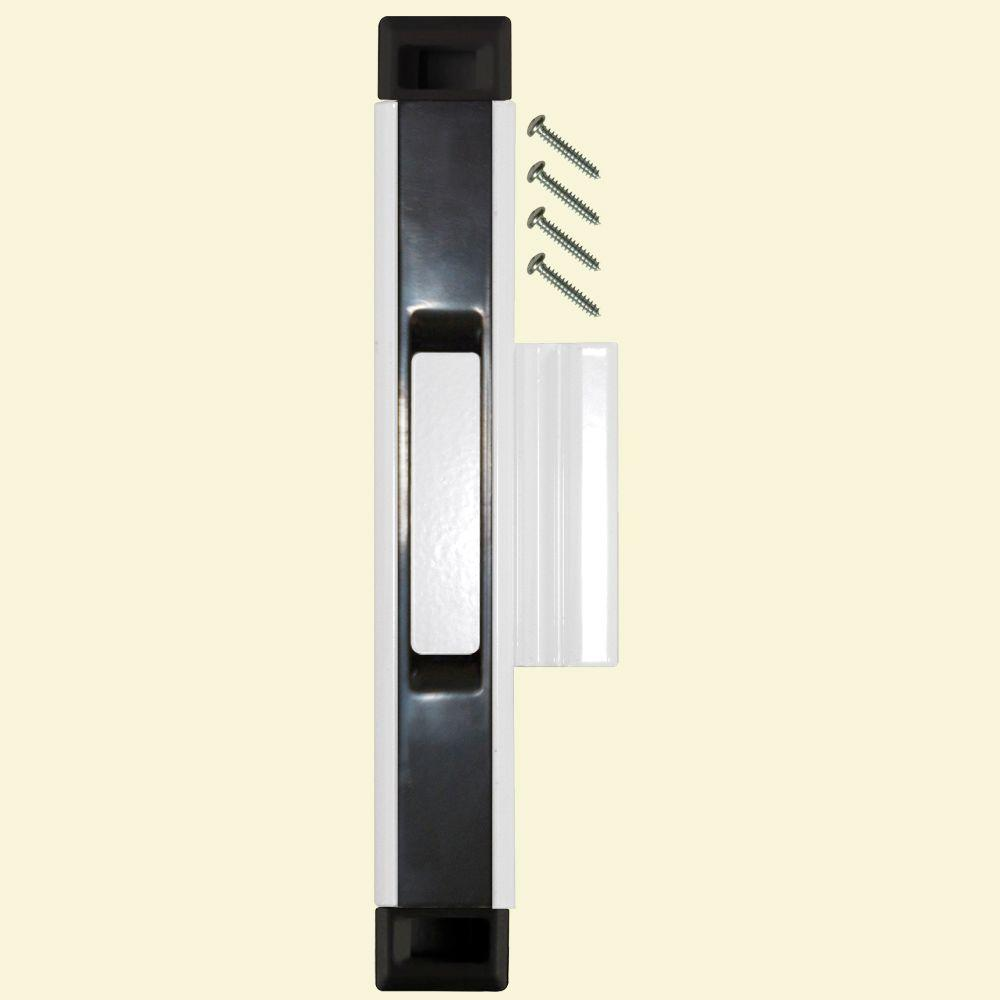 Black/White Sliding Door Interlocking Latch