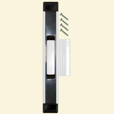 Black/White Sliding Door Interlocking Latch