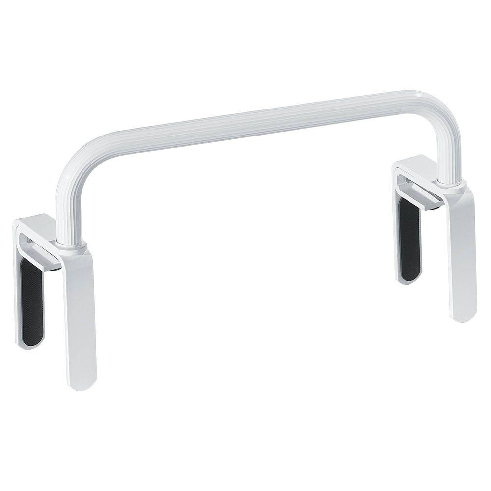MOEN 16-1/2 in. Low Profile Tub Safety Bar in Glacier