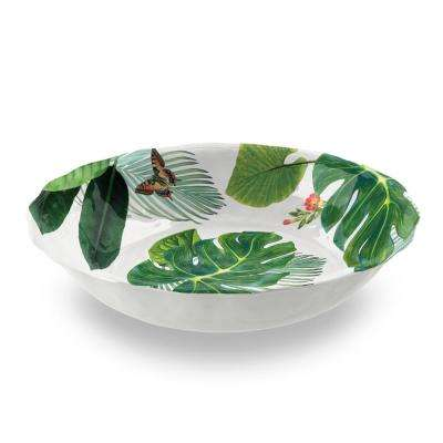 Savino Amazon Green Linen Pasta Bowl (Set of 6)