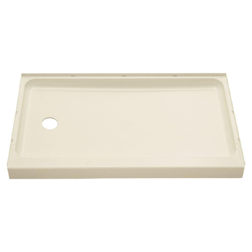 Sterling Ensemble 60 In X 30 Single Threshold Shower Base With Left Hand Drain Biscuit