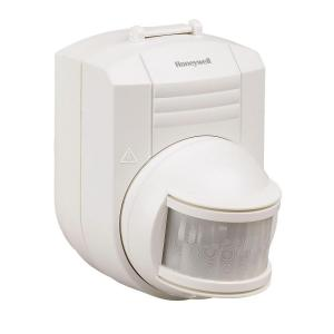 Honeywell Wireless Motion Sensor Indoor Outdoor For 300 Series And Decor Chimes White Rca902n The Home Depot