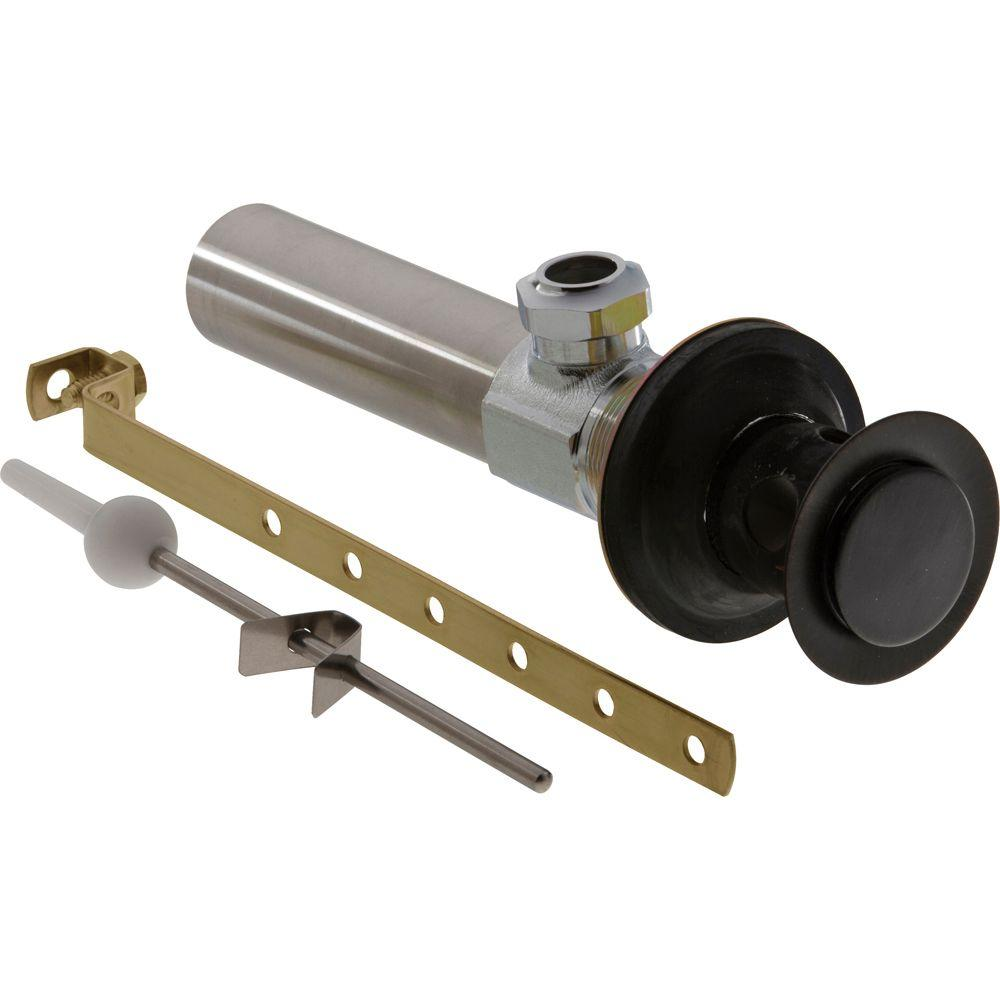 Delta Lavatory Drain Assembly Less Lift Rod In Venetian Bronze